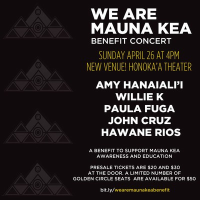 We Are Mauna Kea Benefit Concert