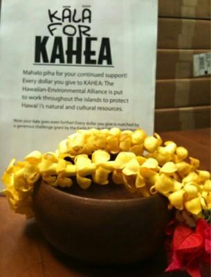 Kala for KAHEA