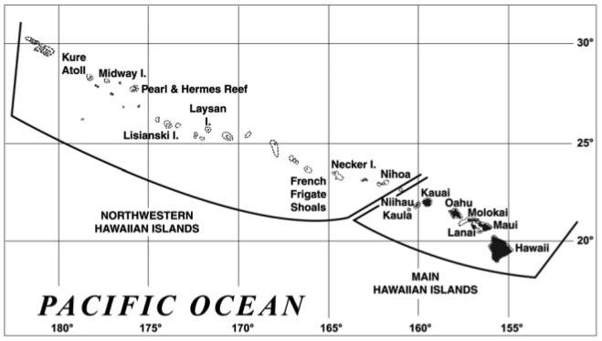 NWHI Map
