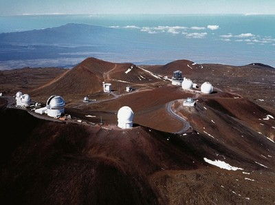 Developed Area of Mauna Kea