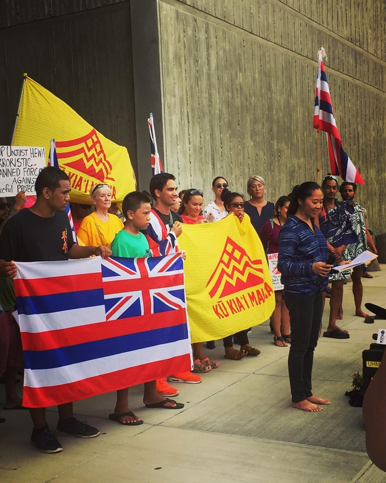 KAHEA's Statement at Kū Kiaʻi Mauna Press Conference